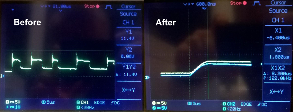 Gandalf_1_2_You_shall_not_pass_Transient_Voltage_Suppression_Circuit_oscilloscope_images_before_and_after
