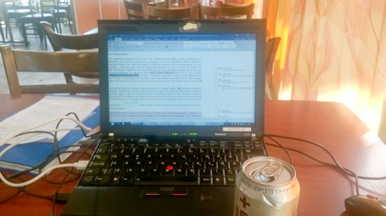 Making-remote-work-at-service-station-while-waiting-car-to-be-fixed-WP_20160726_003.jpg