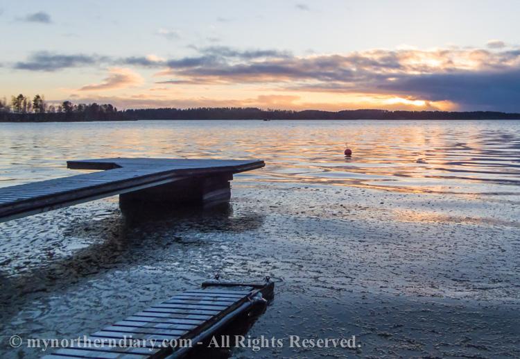auringonlasku, icy shore, jainen ranta, sunset_CRW_0754