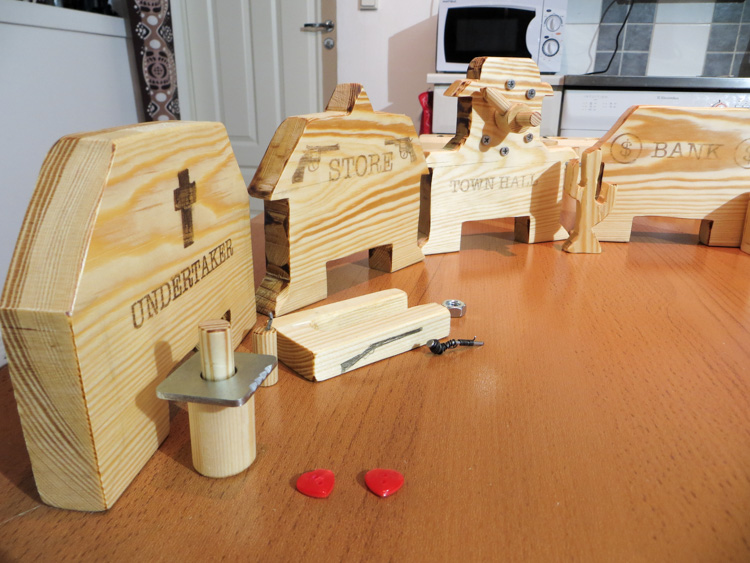 DIY Flick 'Em Up Board Game Made From Wood My Northern Diary Impressive Making Wooden Board Games