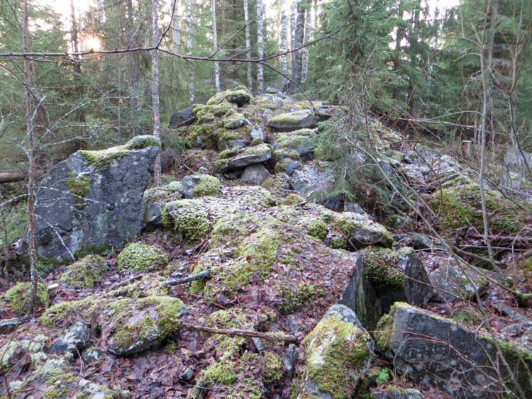 kivi, pile of rocks, roykkio