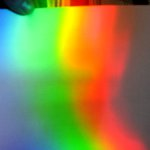 A colorful spectrum made by the quanta of light
